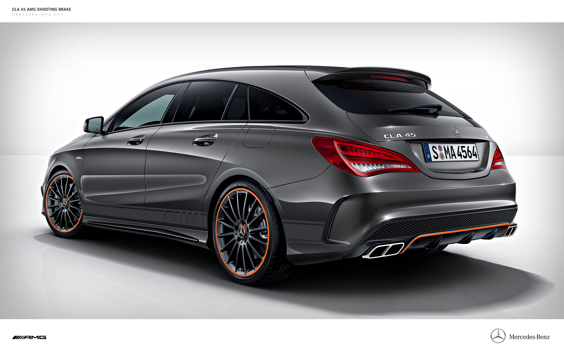 2015 mercedes benz cla 45 amg shooting brake mercedes benz. Black Bedroom Furniture Sets. Home Design Ideas