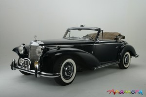 1955 Mercedes-Benz 300 S Cabriolet by Pininfarina 4