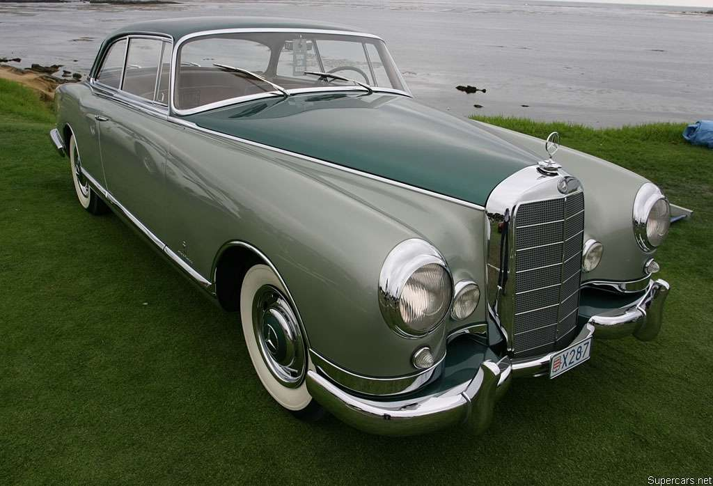 Mercedes Benz 300B By Pininfarina 1955