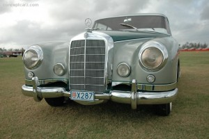 1955 Mercedes-Benz 300B by Pininfarina 7