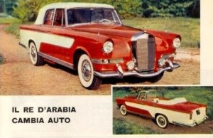 Mercedes-Benz 300c Berlina designed by Ghia 24