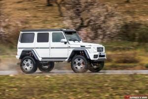 Mercedes-Benz G-Class G500 4x4 34