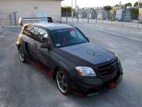 Mercedes-Benz-GLK350-Hybrid-Pikes-Peak-Rally-Car RennTech 1