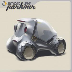 Smart 341 Parkour Concept 4