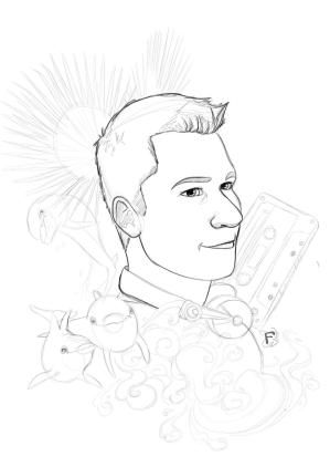 Rough / Sketching du dessin