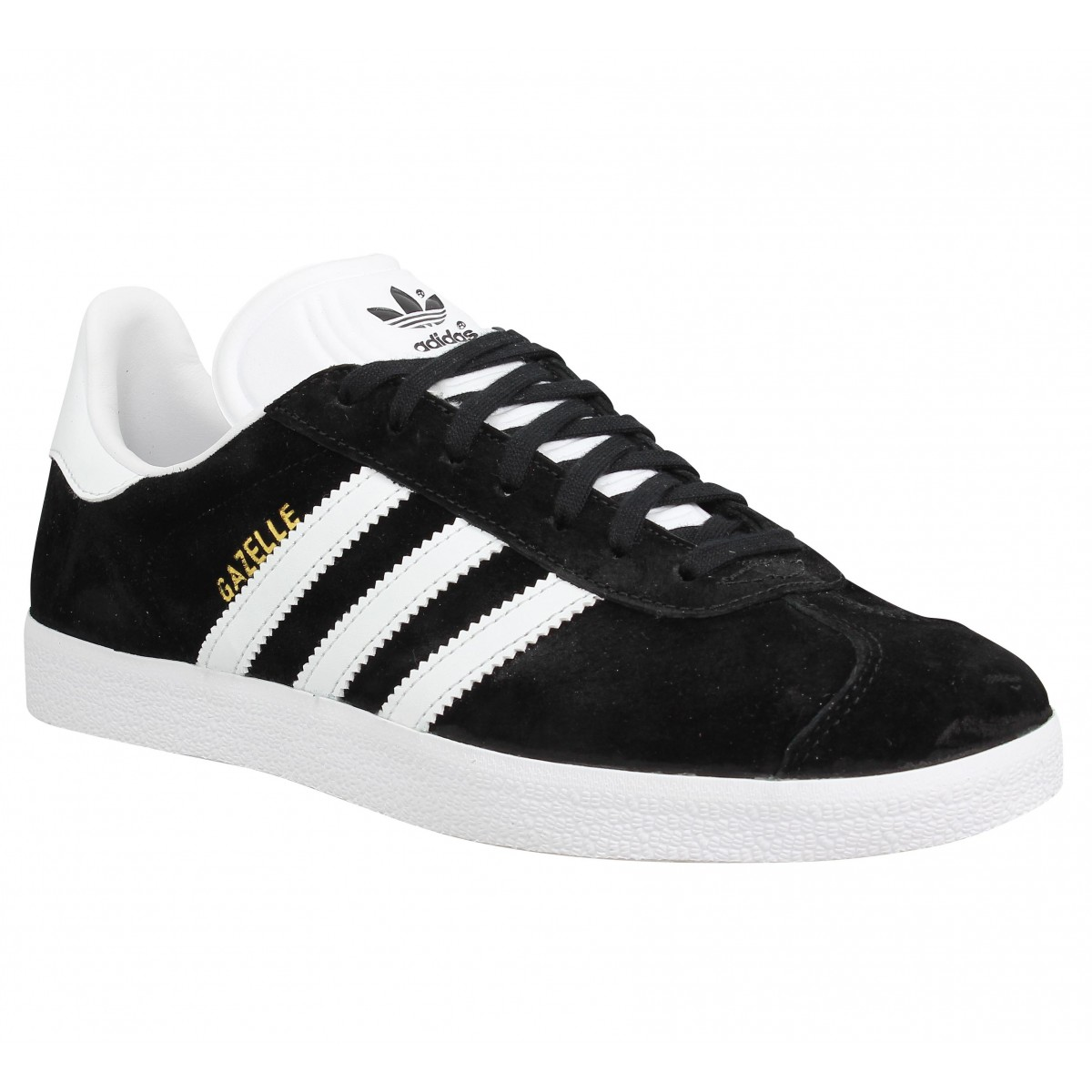 Adidas Gazelle Noir Femme Fanny Chaussures