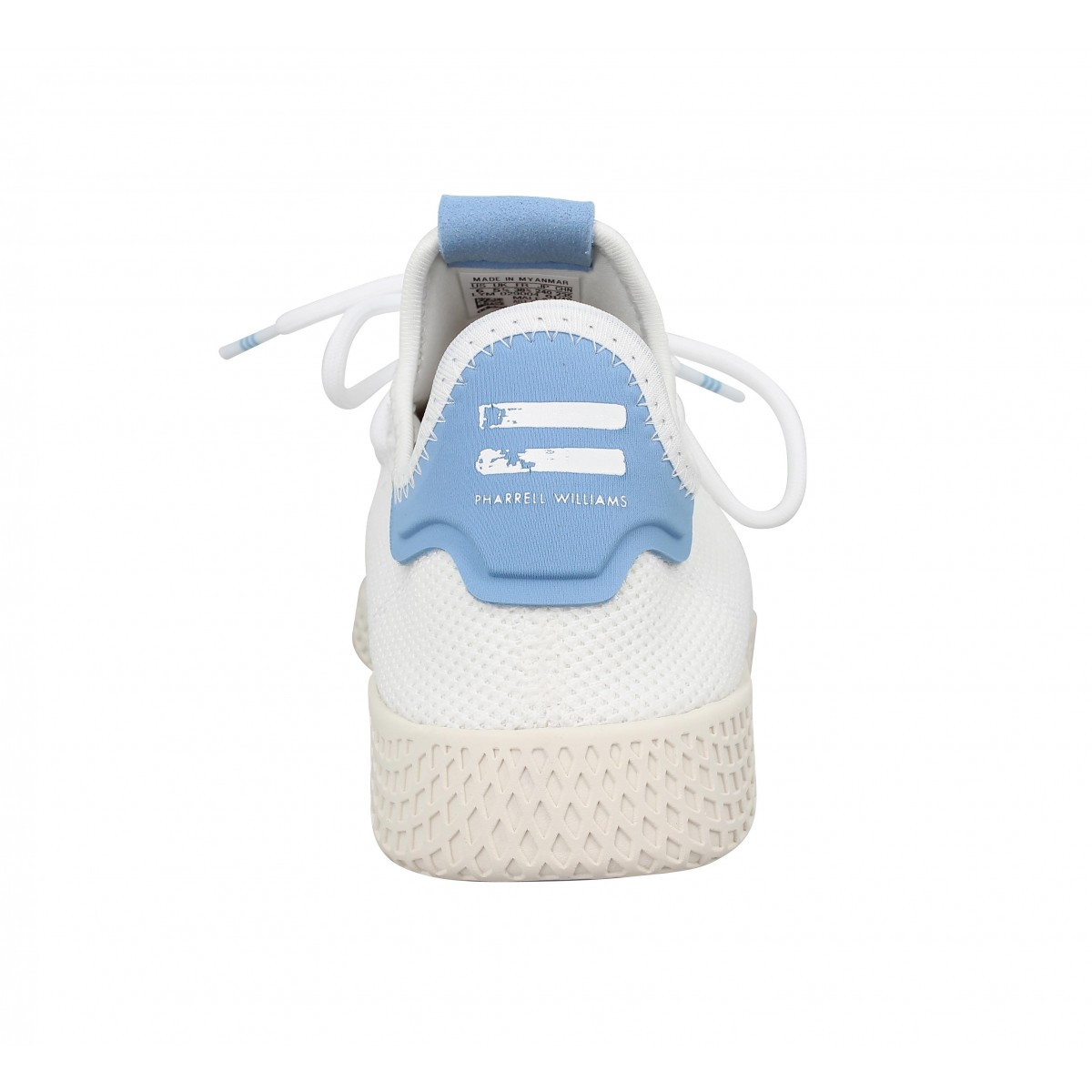 Adidas X Pharrell Williams Pw Tennis Mesh Blanc Bleu Femme