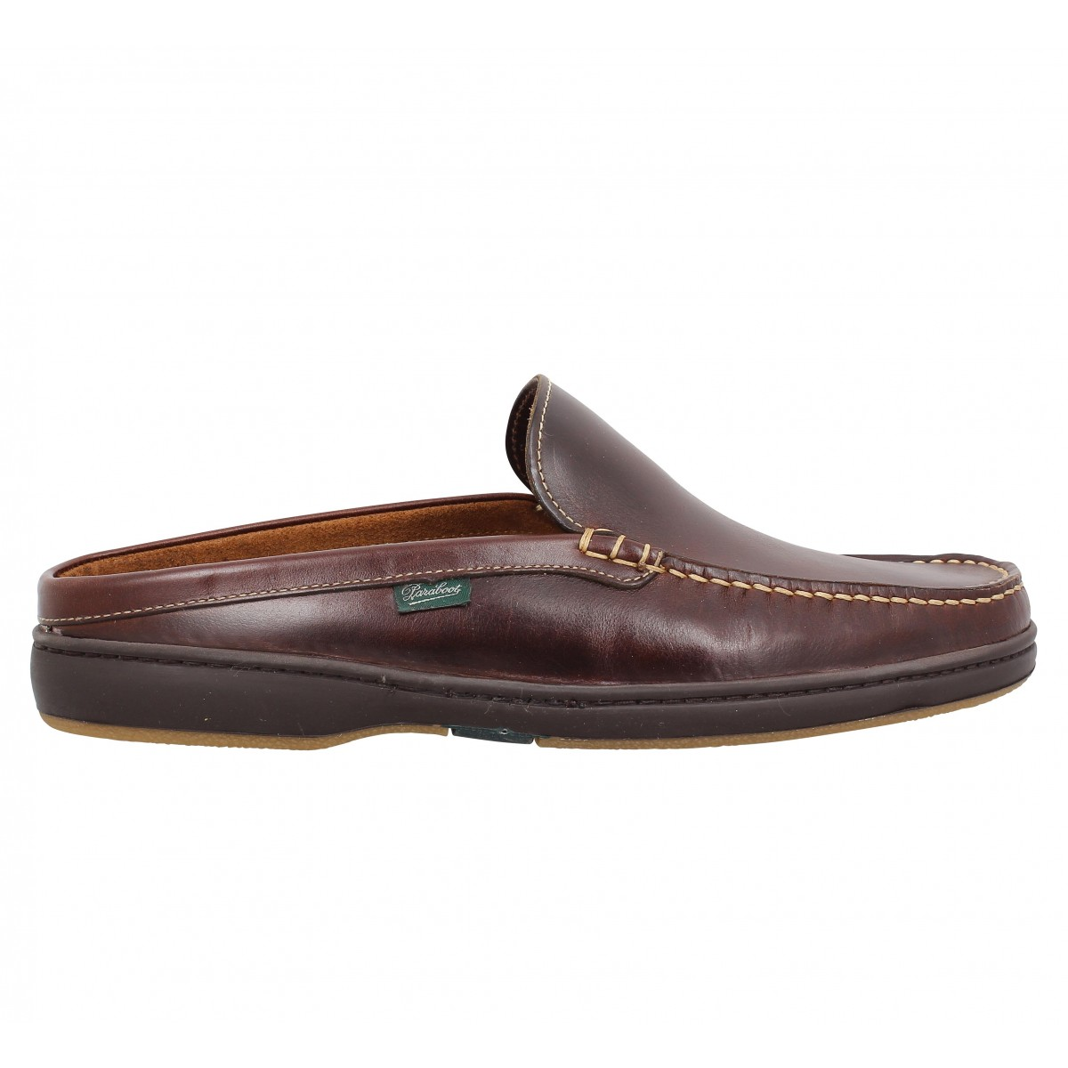 Paraboot Ancyl Cuir Homme Chocolat Fanny Chaussures