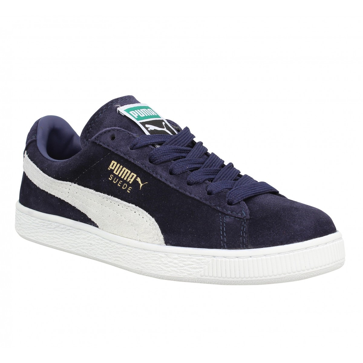 Puma Suede Classic Velours Homme Marine Fanny Chaussures