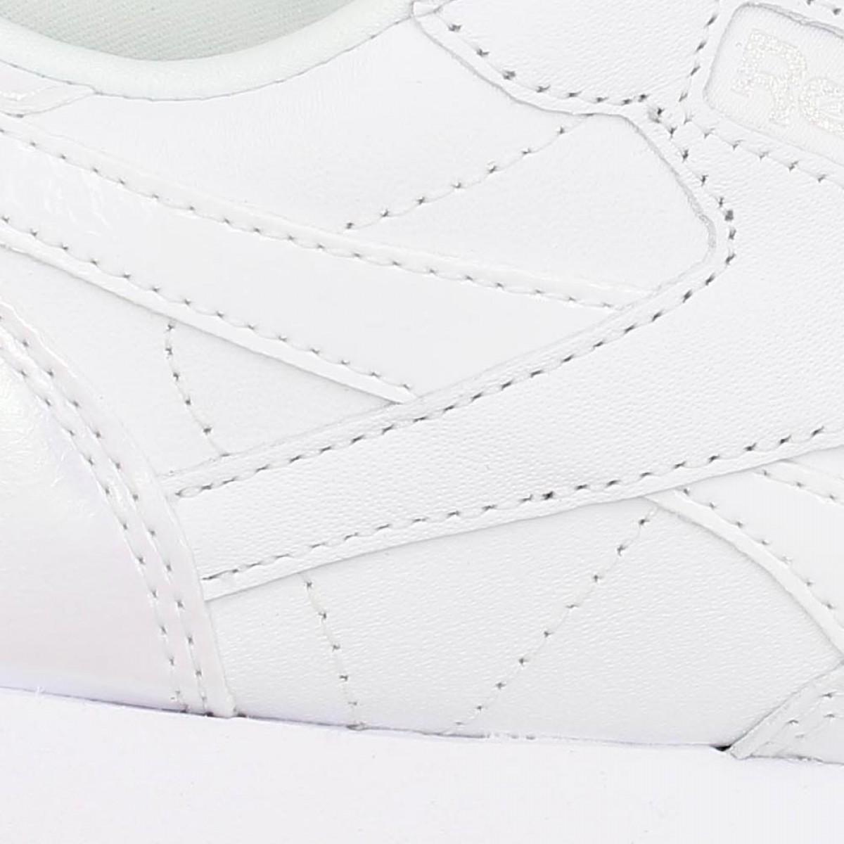 6aada9055694 Reebok Classic Leather Cuir Femme White Ice Femme