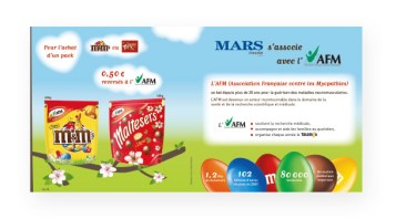 Support Communication Mars Chocolat France