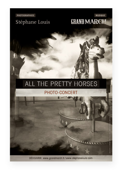 Affiche Photo Concert Grand March ll the pretty horses
