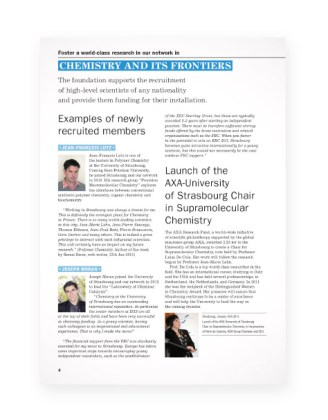 Rapport Fondation pour la recherche en Chimie - page4