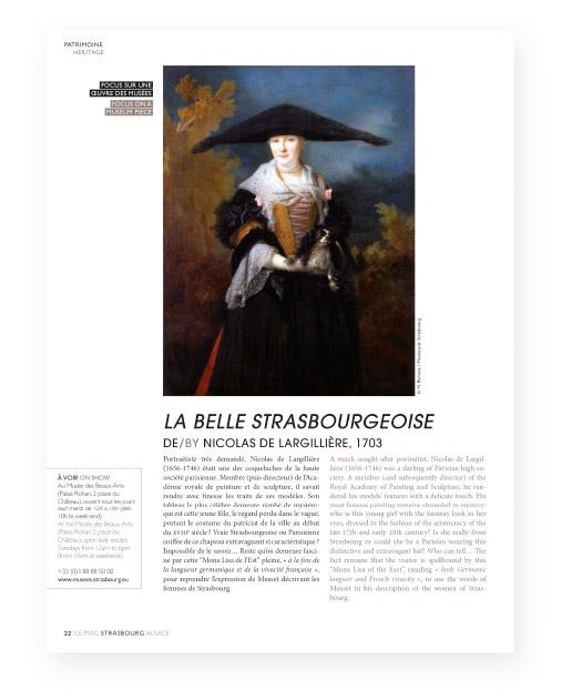 Magazine Office de tourisme de Strasbourg 2