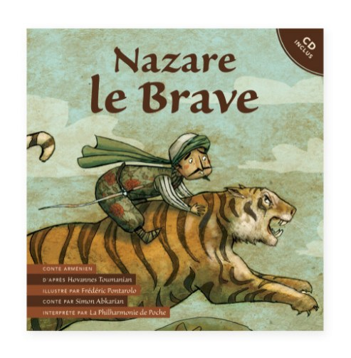 Livre disque Nazare Le Brave Couverture