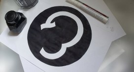 Encrage du logo Magal & Louis Gallery
