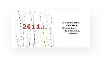 Vœux 2014 Action et Compétence