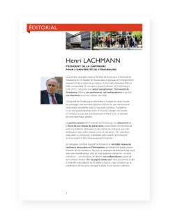 Rapport 2012 Fondation Universite Strasbourg - 2