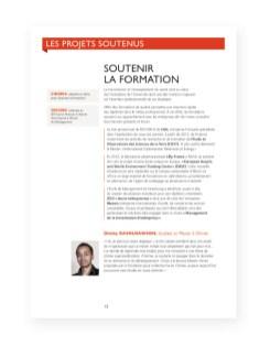 Rapport 2012 Fondation Universite Strasbourg - 8