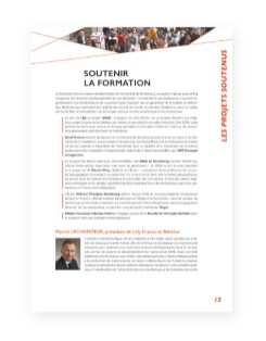 Rapport 2013 Fondation Universite Strasbourg - 8