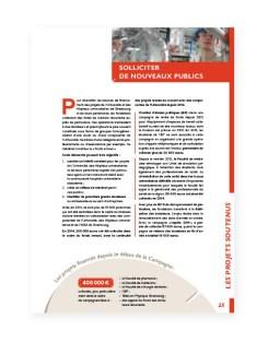 Rapport 2014 Fondation Universite Strasbourg - 13
