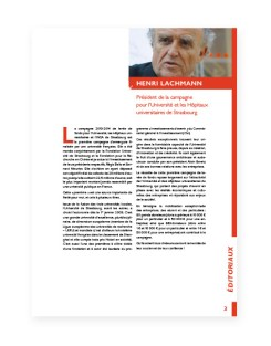Rapport 2014 Fondation Universite Strasbourg - 4