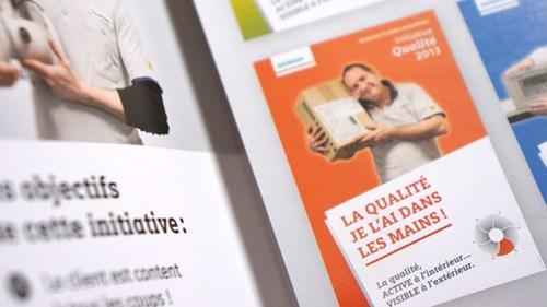 Flyer Initiative Qualité Siemens © Fanny Walz