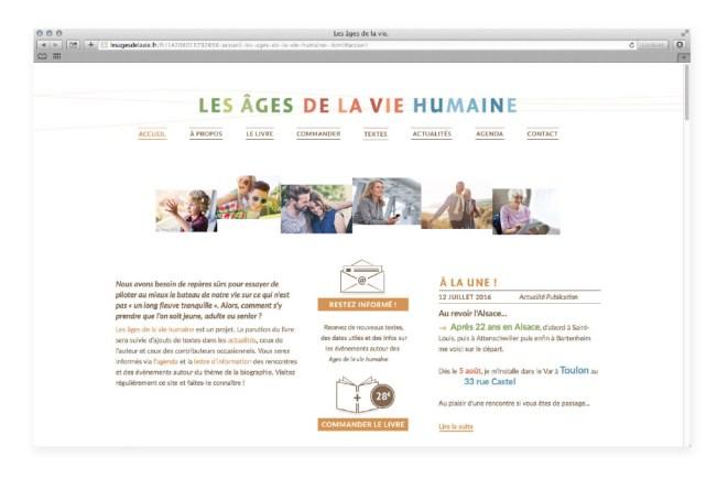 Site Les ages de la vie humaine 01