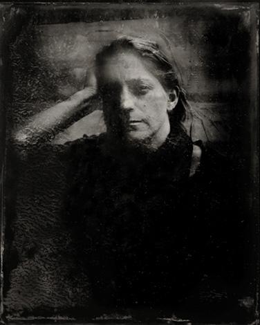 Portrait Fanny Walz – Ambrotype © Stéphane Louis