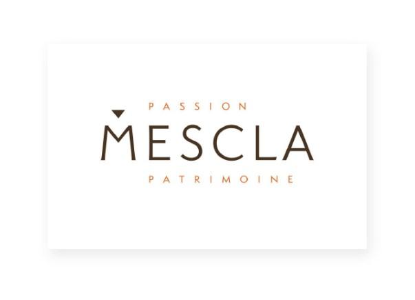 Logo Mescla Passion Patrimoine