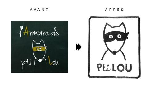Rafraîchissement du logo Armoire de Pti Lou