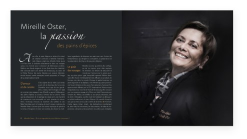 Livre Mireille Oster - Pages intérieures