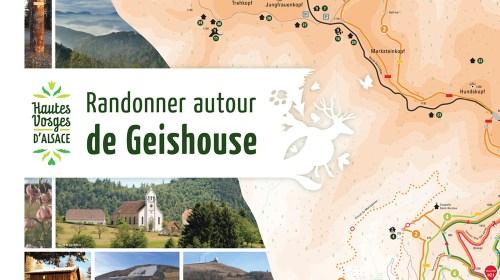 Panneau Randonnée Geishouse - zoom