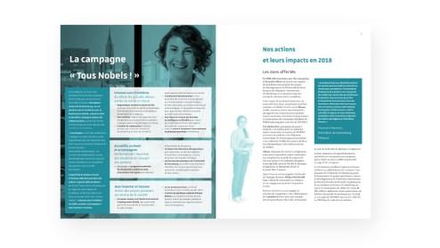 Rapport d'activité extrait Fondation Université Strasbourg