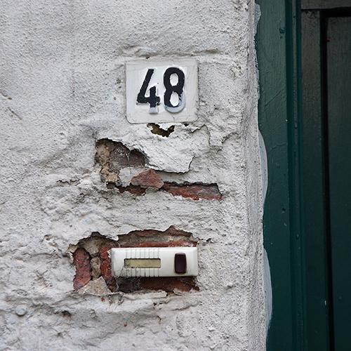 Chiffre 48 Numéro Rue