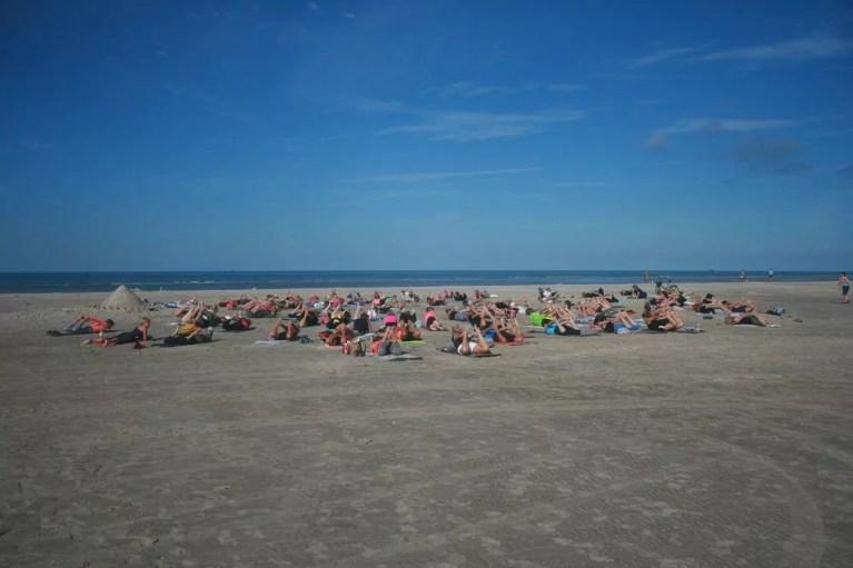 Yoga auf Fanø