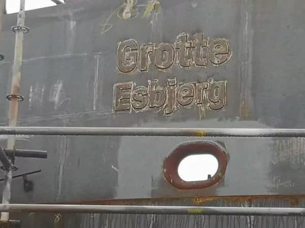 Elektrofähre Grotte Esbjerg