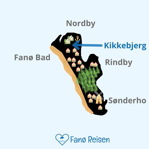 Lage vom Kikkebjerg