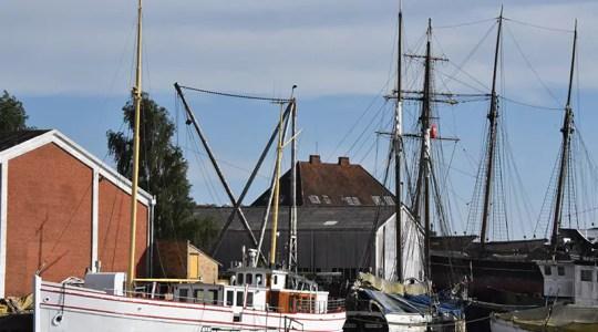 Schiffs-Café für Nordby