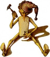 Буратино-гвоздик
