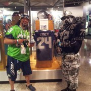 Seahawks and Raiders plan to march for Fans Against Violence