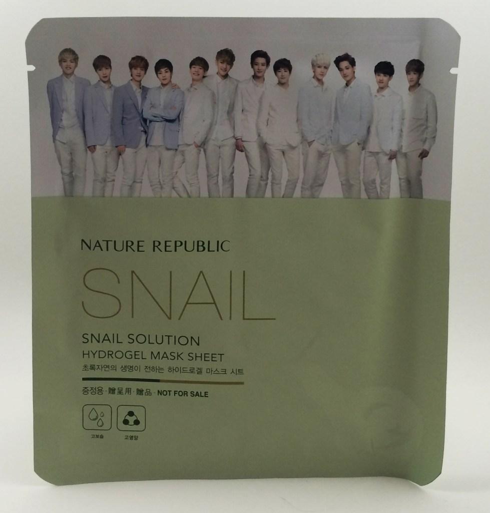 EXO Nature Republic sheet mask