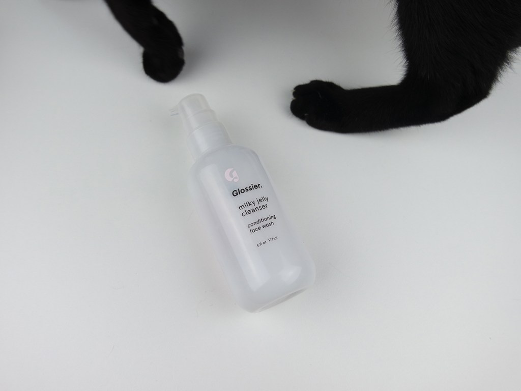 Glossier Milky Jelly Cleanser review
