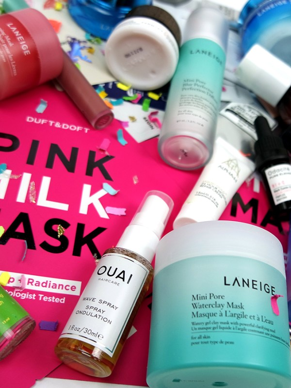 Skincare Haul Porn: Cult Beauty Goody Bag, Beautibi, Amazon, and Laneige
