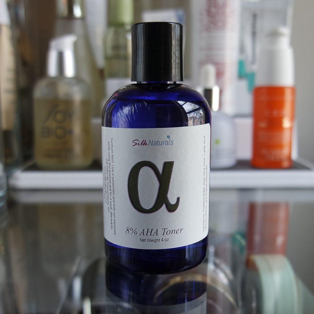 Silk Naturals 8% AHA Toner The Hunt for a Good Genes Dupe: 17 Lactic Acid Reviews