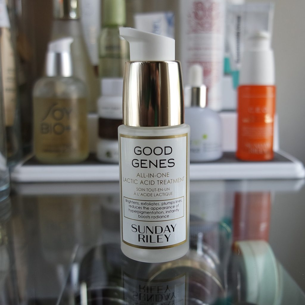 Sunday Riley Good Genes The Hunt for a Good Genes Dupe: 17 Lactic Acid Reviews