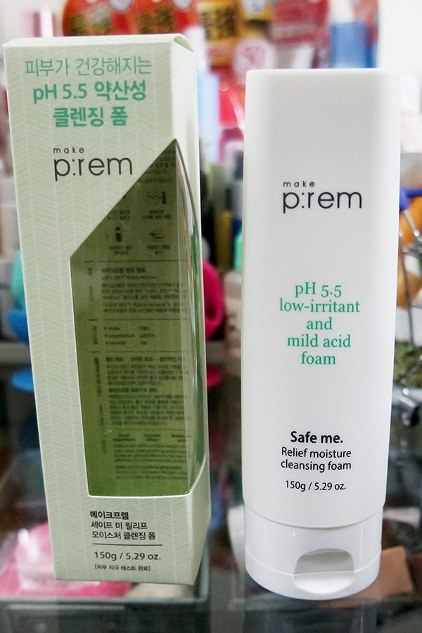 Make P:rem Safe Me. Relief Moisture Cleansing Foam Review