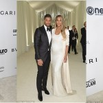 Ciara Steps With Baby Bump & Husband For Elton John's Academic Award