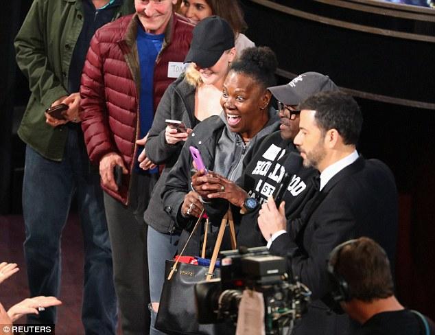 Unsuspecting tourists Wheeled Into Oscars
