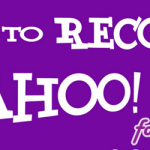How To Recover Yahoo Account